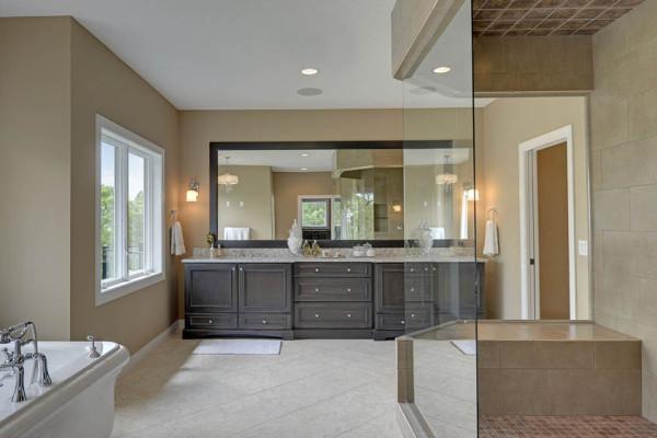 bathroom remodel - master suite - soaker tub