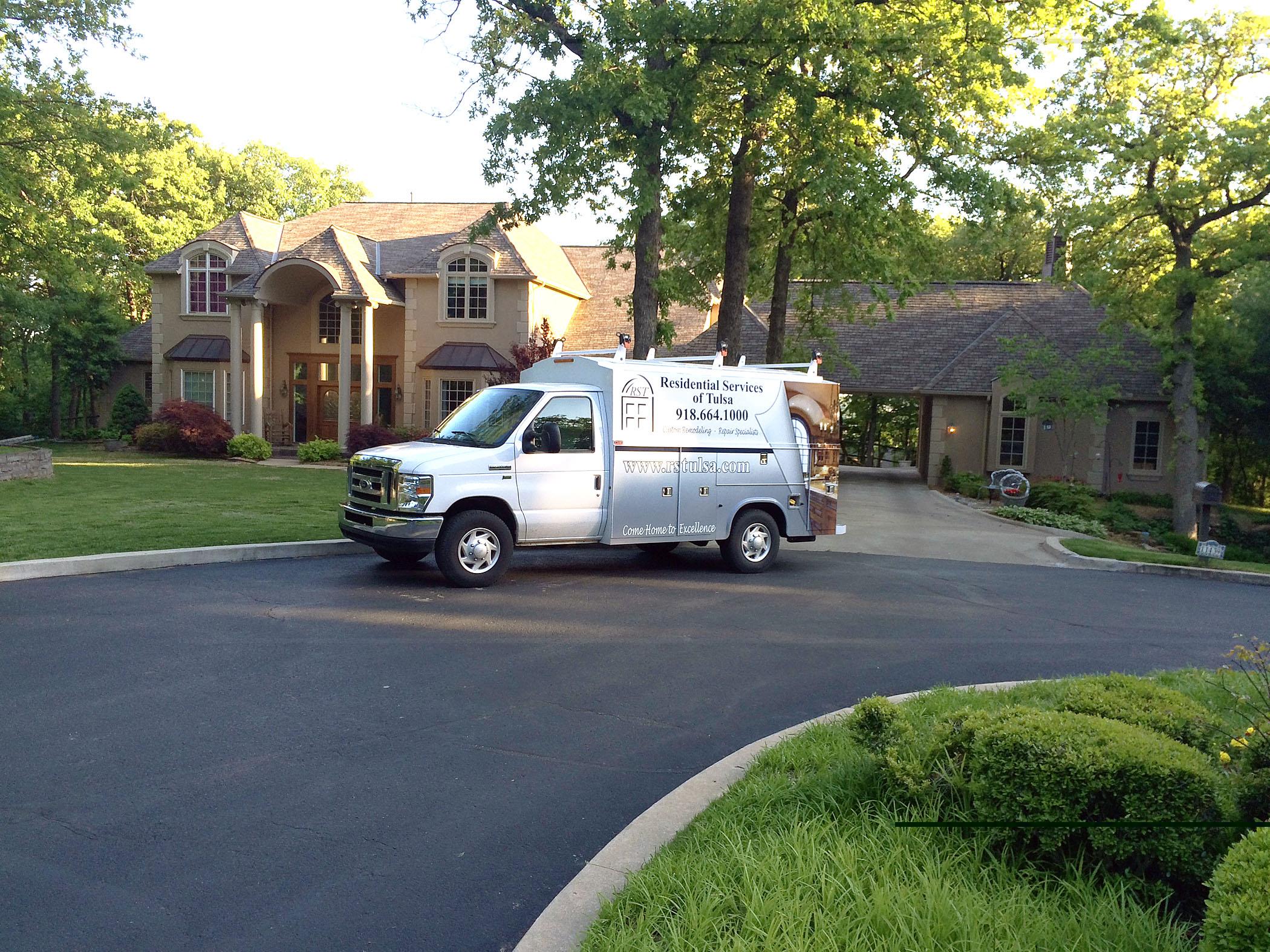 Remodeling Company Tulsa - Van